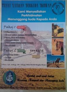 Iklan Perkhidmatan Berkuda di Stable Ikhwan Jerash, Jordan