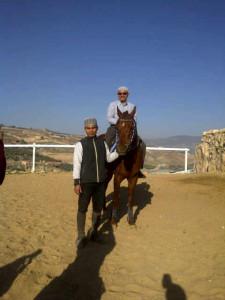 Anak Saudara Ustaz Haron Din di Stable Ikhwan, Jerash, Jordan